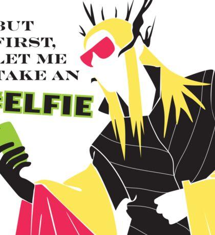 #Elfie Sticker