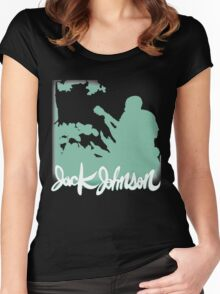 Jack Johnson Tee 2.0 Women's Fitted Scoop T-Shirt