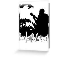Jack Johnson Tee 2.0 Greeting Card