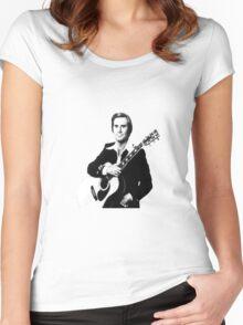 george jones Women's Fitted Scoop T-Shirt