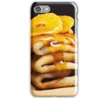 Honey on pancakes iPhone Case/Skin