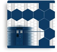 Tardis Blue Box Canvas Print