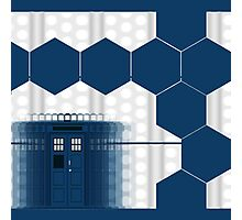 Tardis Blue Box Photographic Print