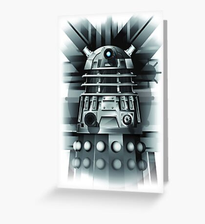 Dalek- Dr who Greeting Card