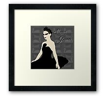 Swan Queen Framed Print