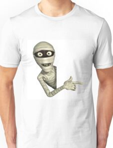 halloween,scary,corpse,dead person,mummy,cute,funny,modern Unisex T-Shirt