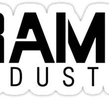 Flash Ramon industries Sticker