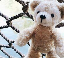 Duffy the Disney bear  by Disneyland1901