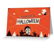 Weeping Angel - Halloween Card Greeting Card
