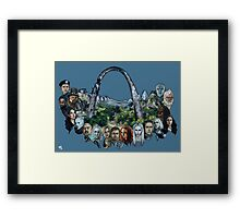 Defiance (Version 1) Framed Print