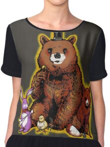 Five Nights in the Forest Women's Chiffon Top