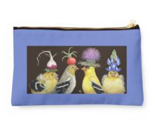 Goldfinch Family Studio Pouch