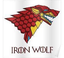 HOUSE STARK - IRON WOLF Poster