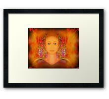 ...   L  a  d  y  ..    in  . .   Waiting   ... Framed Print
