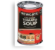 Soup Can by Lidl Warhol Canvas Print