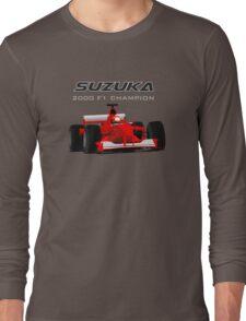 F1 Legend #3 - Ferrari F1-2000 Long Sleeve T-Shirt