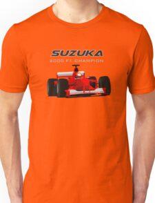 F1 Legend #3 - Ferrari F1-2000 Unisex T-Shirt