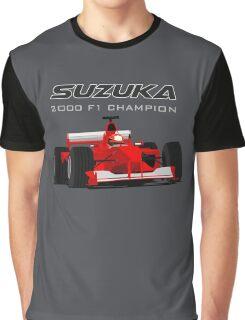 F1 Legend #3 - Ferrari F1-2000 Graphic T-Shirt