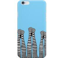 Legs Up (In Blue) iPhone Case/Skin
