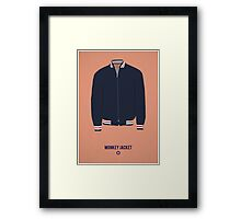 Monkey Jacket Framed Print