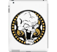 Gold Revolver Skull iPad Case/Skin