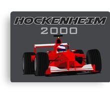 F1 Legend #4 - Ferrari F1-2000 Canvas Print