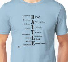Battles through time Unisex T-Shirt