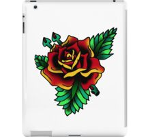 Traditional Red Rose & Thorns iPad Case/Skin