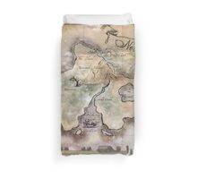 Classic Neverland Map Blanket King Size Duvet Cover