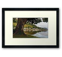 Village by the Loch Framed Print