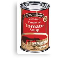 Soup Can by Aldi Warhol Canvas Print