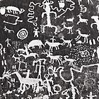 Petroglyphs .6 by Alex Preiss
