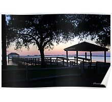 April Twilight in Florida Poster