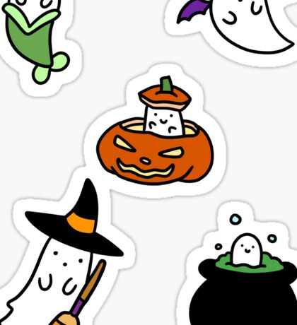 Ghosts! Sticker