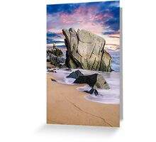 Dusk on Baja Coast Greeting Card