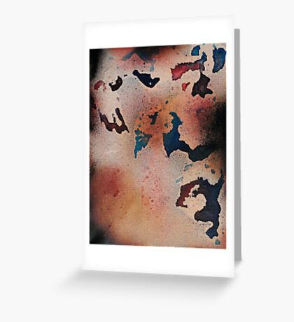 Oil & Water 3.4 Greeting Card