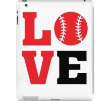 Baseball Love iPad Case/Skin