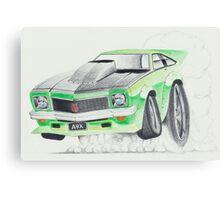 Holden Torana A9X-Burnout by Glens Graphix Canvas Print