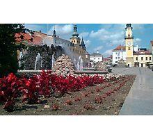 Banska Bystrica Square Slovakia Photographic Print
