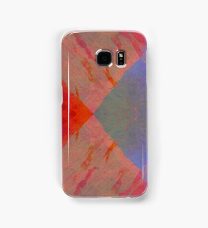Fire And Ice abstract art original unique Samsung Galaxy Case/Skin
