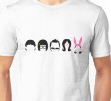 Gene, Tina, Bob, Linda, & Louise Belcher  Unisex T-Shirt