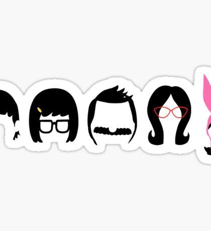 Gene, Tina, Bob, Linda, & Louise Belcher  Sticker