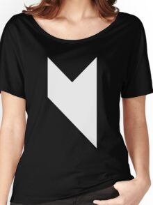 Music On black Women's Relaxed Fit T-Shirt