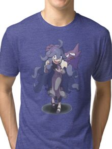 Pokemon / Pokémon X and Y - Hex Maniac and Haunter Tri-blend T-Shirt