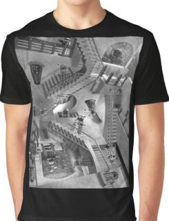 Escher's Asylum of the Daleks Graphic T-Shirt