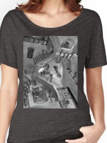 Escher's Asylum of the Daleks Women's Relaxed Fit T-Shirt