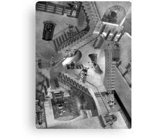Escher's Asylum of the Daleks Canvas Print