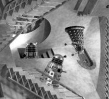 Escher's Asylum of the Daleks Sticker