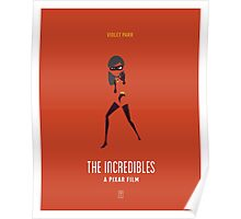 The Incredibles: Violet Poster