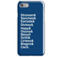 Blue Jays Top Pitchers iPhone Case/Skin